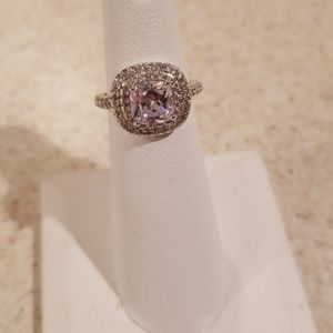 Jewelry - New S925 White Sapphire Ring Size 5